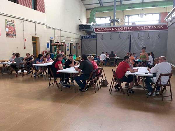 Sesión de trabajo - Mercats de Vilanova i la Geltrú - proyecto realizado por El Camino del Elder